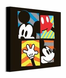 Mickey Mouse Framed - obraz na płótnie