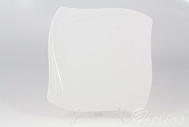 Talerz płytki 27 cm - VANITY Biały