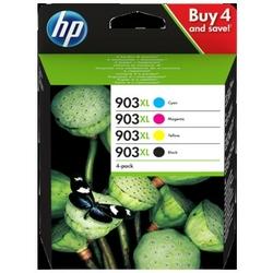 Tusze Oryginalne HP 903 XL CMYK 3HZ51AE komplet - DARMOWA DOSTAWA w 24h