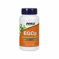 NOW EGCg Green Tea Extract 400 mg 90 kapsułek Standaryzowany Ekstrakt z Zielonej Herbaty Wysyłka 24h