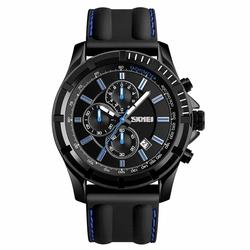 Zegarek męski SKMEI 1352 STOPER DATA blue - BLUE