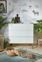 Bellamy Toteme botanique komoda biała