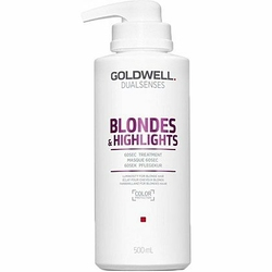 Goldwell Blondes Highlights 60sec, balsam do pielęgnacji włosów rozjaśnionych 500ml