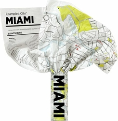 Mapa Crumpled City Miami