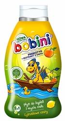 Bobini Baby, Cytruskowe Czary, płyn do kąpieli i mycia 2w1, 660 ml