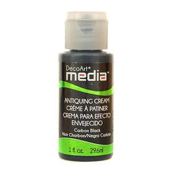 Krem do postarzania Decoart media 29,6 ml czarny - CZA