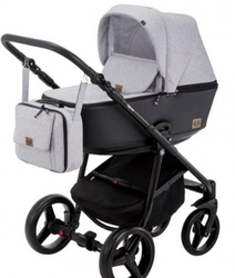 Wózek Adamex Reggio Premium 4w1 Fotel Maxi ROCK i-Size + Baza 3WayFix