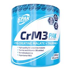 6PAK CrM3 Pak - 250g - Natural