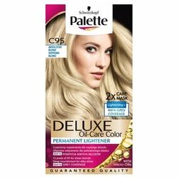 Palette, Deluxe, farba do włosów, C95 Absolutny Blond