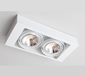 Shilo :: Oprawa natynkowa KOGA 153 GU10 - kolor biały