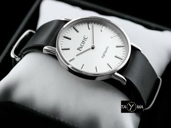 Czarny damski zegarek na pasku PACIFIC A268 zy554a
