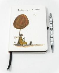 Sometimes We Just Sit and Think - notes z długopisem