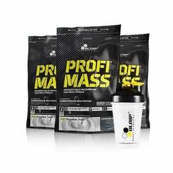 Olimp Profi Mass 1000 + Shaker Gratis Zestaw - Vanilla