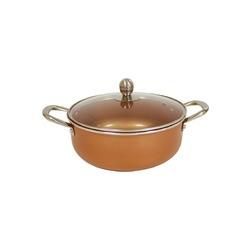 Starlyf Copper Pan - garnek z pokrywką 28 CM