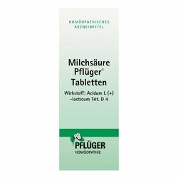 Milchsaeure Pflueger Tabletten