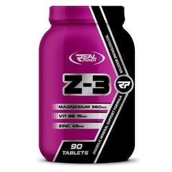REAL PHARM Z3 Najlepsze ZMA Magnez Cynk Witamina B6 Wysyłka 24h