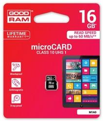 GOODRAM microSD 16GB CL10 UHS-I