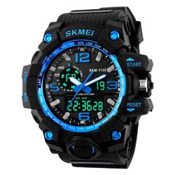 ZEGAREK MĘSKI sportowy SKMEI 1155 S-SHOCK blue - BLUE