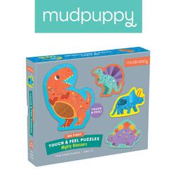 Mudpuppy Puzzle sensoryczne Potężne dinozaury 1+