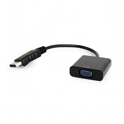 Gembird Adapter DisplayPort do VGA czarny