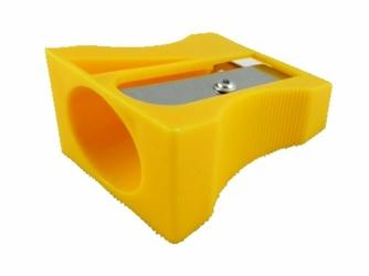 Duża Obieraczka Do warzyw - Temperówka - Żółta