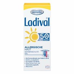 Ladival żel ochronny dla skóry alergicznej twarzy SPF50