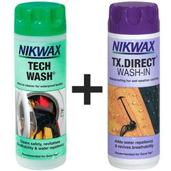 Zestaw pielęgnacyjny Nikwax Twin Tech Wash + TX Direct Wash In 2x1 L