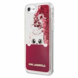 Karl Lagerfeld Hardcase iPhone 78 KLHCI8PABGFU różowy