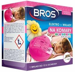 Bros Elektro Dla Dzieci, urządzenie elektryczne przeciw komarom, 10 wkładów