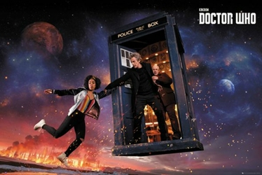 Doctor Who Sezon 10 - plakat filmowy