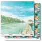 Ozdobny papier Tropics - Sapphire Sky - 03