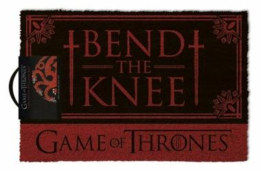 Gra o Tron quot;Bend the Kneequot;  - wycieraczka