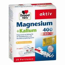 Doppelherz Magnez+Potas 400 Direct saszetki