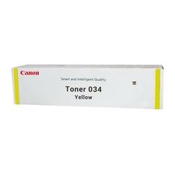 Canon oryginalny toner 034, yellow, 7300s, 9451B001, Canon iR-C1225, C1225iF