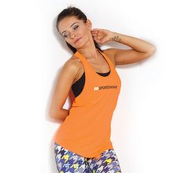 FA WEAR Tanktop Womans - Loose - Orange - L