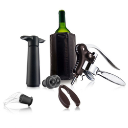 Zestaw do wina 7 elementów profesjonalny Vacu Vin