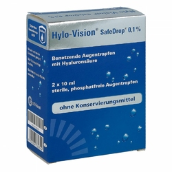 Hylo-vision Safedrop 0,1 Augentropfen