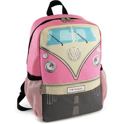 Plecak mały VW T1 Bus różowy BR-BUBP15