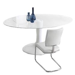 Stół szklany Modero 180x76 cm owalny blat