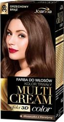 Joanna Multi Cream Color, farba do włosów, 39 orzechowy brąz