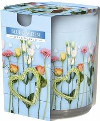 Bispol, sn72s, Świeca zapachowa w szkle, Błękitny ogród, 1 sztuka