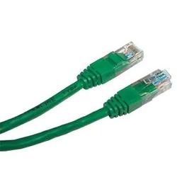 UTP patchcord UTP patchcord, Cat.6, RJ45 M-3m, nieekranowany, zielony, economy