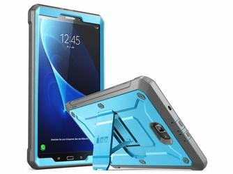 Etui Supcase Unicorn Beetle Pro do Samsung Galaxy Tab A 10.1 Blue black - Czarny    Niebieski
