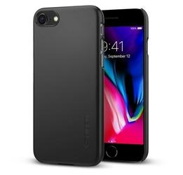SPIGEN SGP Thin Fit Black etui iPhone 78