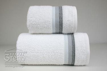 OMBRE BIAŁY ręcznik bawełniny FROTEX - biały