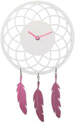 Zegar ścienny Dreamcatcher biały