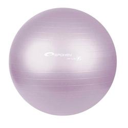 Pi�ka gimnastyczna Fitball 55 cm szara - Spokey - fioletowy