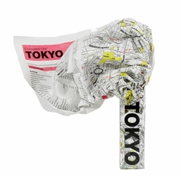 Mapa Crumpled City Tokio