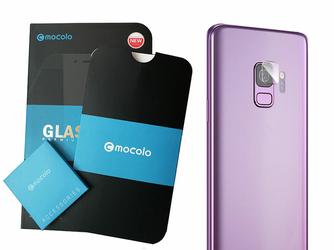 Szkło hartowane Mocolo na aparat obiektyw do Samsung Galaxy S9