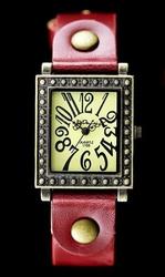 Damski zegarek  TAYMA - RETRO PUNK 31 -czerwony zx560b
